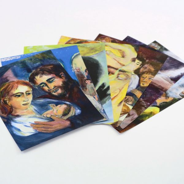 Die Gesichter Christi I-VII - Bildausdrucke
